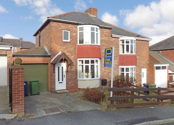 Thumbnail 2 bed semi-detached house for sale in Clover Avenue, Winlaton Mill, Blaydon-On-Tyne