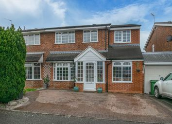 4 bed semi-detached house for sale in Hollyberry Close, Winyates Green, Redditch B98