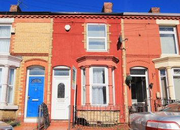 Thumbnail 3 bed terraced house for sale in Bartlett Street, Wavertree, Liverpool L15.
