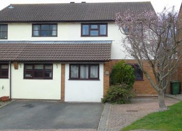 Thumbnail 3 bed semi-detached house for sale in Foxglove Close, Ross-On-Wye