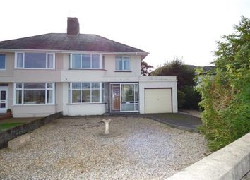 Thumbnail 3 bed semi-detached house for sale in Meadow Drive, Porthmadog, Gwynedd