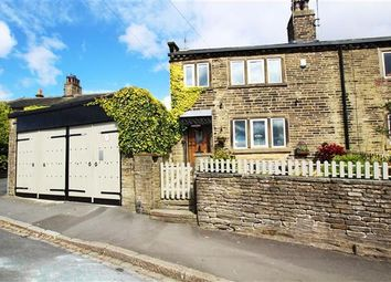 Thumbnail 3 bed semi-detached house for sale in Whitehill Green, Illingworth, Halifax