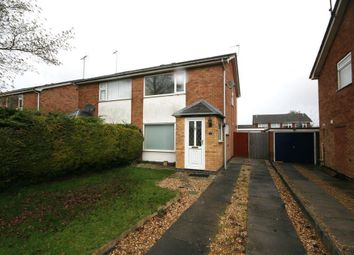 Thumbnail 2 bed semi-detached house to rent in Troon Close, Stamford