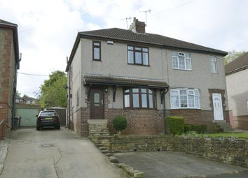 Thumbnail 3 bed semi-detached house to rent in Cemetery Road, Dronfield