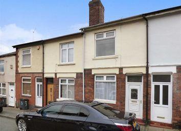 Thumbnail 2 bed terraced house for sale in Lomas Street, Shelton, Stoke-On-Trent