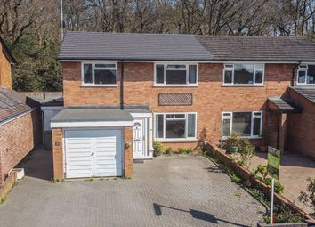 Thumbnail 3 bed semi-detached house for sale in Foxwarren, Claygate, Esher