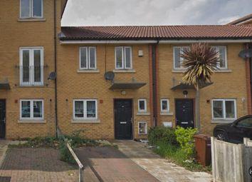 Thumbnail 2 bed terraced house to rent in Brinkworth Way, Trowbridge Road, London