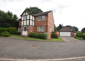 Thumbnail 4 bedroom detached house for sale in Princess Beatrice Close, Norwich, Norfolk