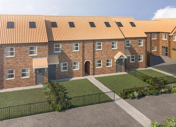 Thumbnail 3 bedroom town house for sale in Church Lane, Crowle, Scunthorpe