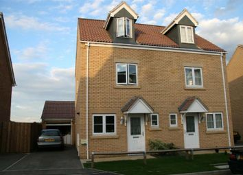 Thumbnail 3 bedroom semi-detached house to rent in Collyns Way, Collyweston, Stamford