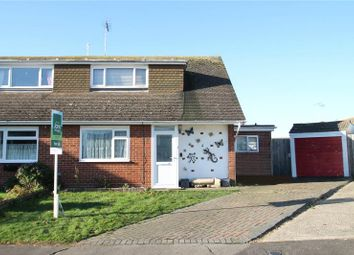 Thumbnail 3 bed semi-detached bungalow for sale in Amberley Close, Littlehampton, West Sussex