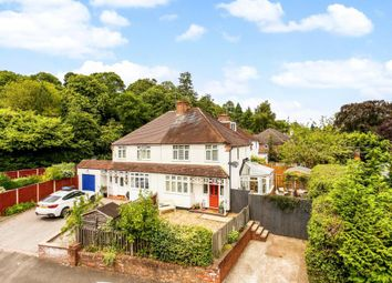 Thumbnail 3 bed semi-detached house for sale in Church Road, Sunningdale, Ascot