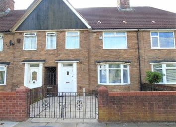 Thumbnail 3 bed terraced house to rent in Endmoor Road, Huyton, Liverpool