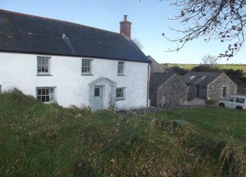 Farmhouse With Barns And Land. Crelly, Trenear, Helston TR13