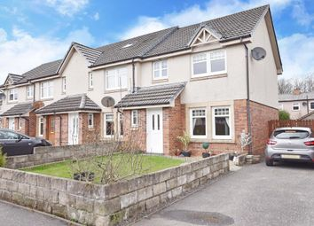 Thumbnail 3 bed end terrace house for sale in Rye Drive, Glasgow