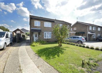 Thumbnail 3 bed semi-detached house for sale in Welland Close, Raunds, Northamptonshire