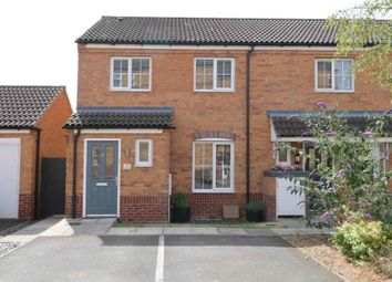 Thumbnail 3 bed end terrace house for sale in Elvaston Court, Grantham