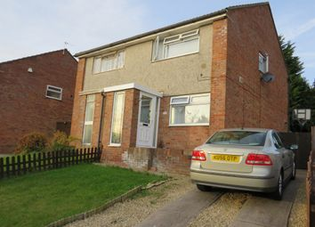 Thumbnail 2 bed semi-detached house for sale in Goodwick Close, Barry