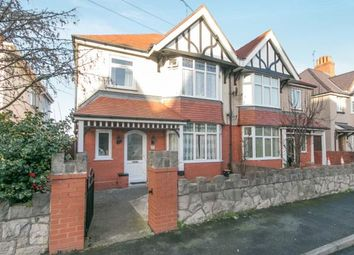 Thumbnail 4 bed semi-detached house for sale in Pendorlan Avenue, Colwyn Bay, Conwy, North Wales