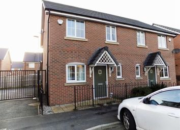Thumbnail 3 bedroom semi-detached house for sale in Butterton Drive, Manchester