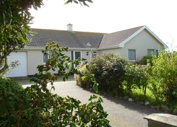Thumbnail 3 bed detached bungalow for sale in Trevean Way, Rosudgeon, Penzance