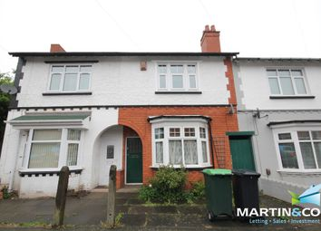 Thumbnail 2 bed terraced house to rent in Belmont Road, Bearwood