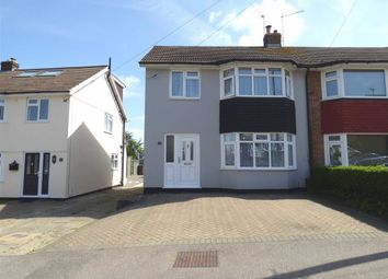 Thumbnail 3 bed semi-detached house for sale in Benenden Road, Wainscott, Rochester