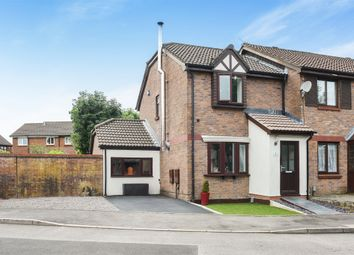 Thumbnail 3 bed end terrace house for sale in Holgate Close, Llandaff, Cardiff