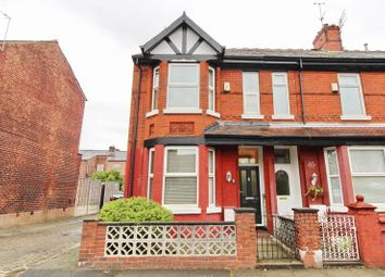 Thumbnail 3 bedroom end terrace house for sale in Crawford Street, Eccles, Manchester