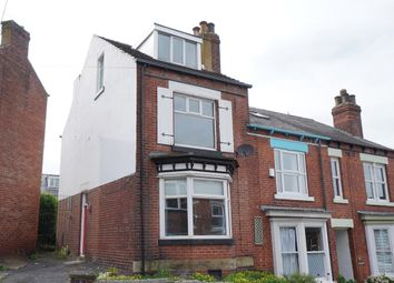Thumbnail 4 bedroom end terrace house for sale in Penryhn Road, Hunters Bar, Sheffield