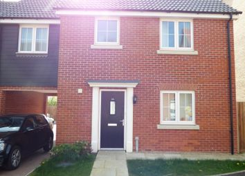 Thumbnail 4 bedroom detached house to rent in Hedge Sparrow Road, Stowmarket