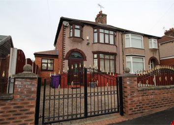 Thumbnail 3 bed semi-detached house for sale in Kirkmore Road, Mossley Hill, Liverpool, Merseyside