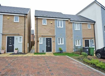 Thumbnail 3 bed end terrace house for sale in Waterside Road, Wellingborough