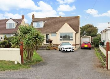 Thumbnail 4 bed detached bungalow for sale in Beach Road, Sand Bay, Weston-Super-Mare, North Somerset .