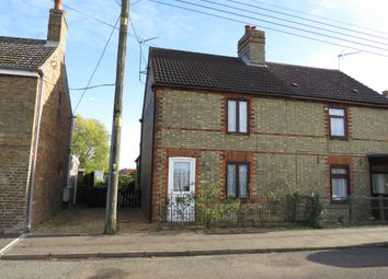 Thumbnail 3 bedroom semi-detached house for sale in Upgate Street, Southery, Downham Market