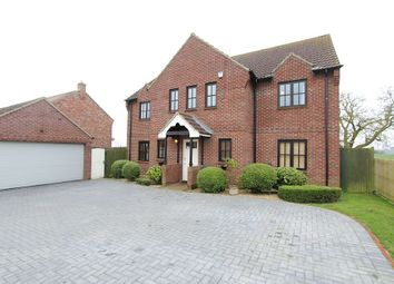Thumbnail 6 bed detached house for sale in Chapel Lane, Little Hale, Sleaford, Lincolnshire