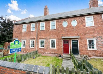 Thumbnail 3 bed terraced house for sale in Model Village, Creswell, Worksop