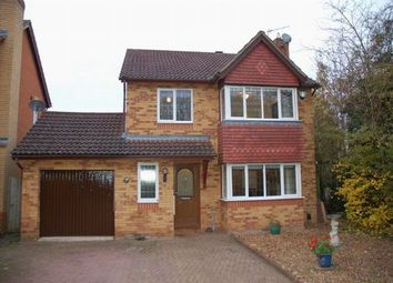 Thumbnail 4 bed detached house for sale in Woodland Walk, Overstone, Northampton