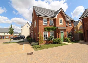 Thumbnail 3 bedroom end terrace house for sale in Aquitania Close, Brooklands, Milton Keynes