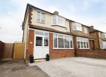 Shortwood Avenue, Staines TW18. 3 bed semi-detached house for sale