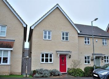 Thumbnail 3 bedroom semi-detached house for sale in Flitch Green, Dunmow, Essex