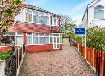 Thumbnail 3 bed semi-detached house for sale in Dorrington Road, Cheadle Heath, Stockport