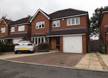 Thumbnail 4 bed detached house for sale in Milton Gardens, Narborough, Leicester, Leicestershire