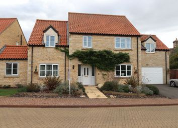 Thumbnail 4 bed link-detached house for sale in Elliots Way, Braceborough, Stamford