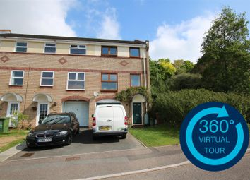 Thumbnail 3 bed town house for sale in Garland Close, Exwick, Exeter
