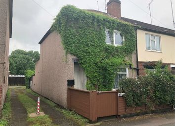 Thumbnail End terrace house for sale in Humber Avenue, Stoke, Coventry, West Midlands