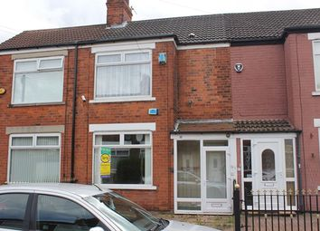 Thumbnail 3 bed terraced house for sale in Stephenson Street, Hull
