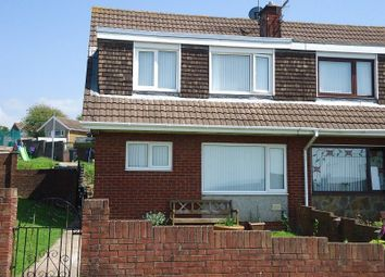 Thumbnail 3 bed semi-detached house to rent in Maes Ty Canol, Port Talbot