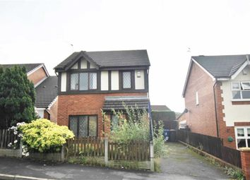 Thumbnail 3 bed detached house for sale in Platt Lane, Wigan