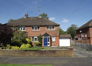 Thumbnail 3 bed semi-detached house to rent in Ryelaw Road, Church Crookham, Fleet